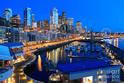 Sunset In Seattle Original