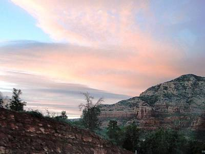 Photograph - Sunset In Sedona by Charlayne Grenci