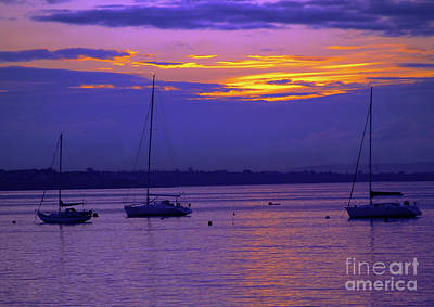 Photograph - Sunset In Skerries Harbor by Patricia Griffin Brett