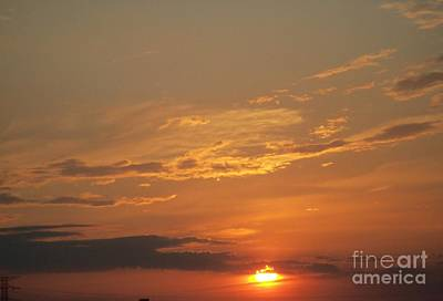 Art Print featuring the photograph Sunset In St. Peters by Kelly Awad