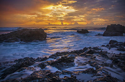 Photograph - Sunset In Tamarindo by Owen Weber