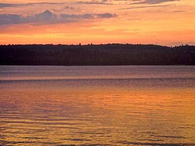 Photograph - Sunset In The Gatineau Hills by Stephanie Moore