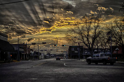 Photograph - Sunset In The Heart Of Texas by John Dickinson