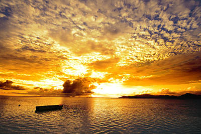 Photograph - Sunset In The Islands by Alexey Stiop