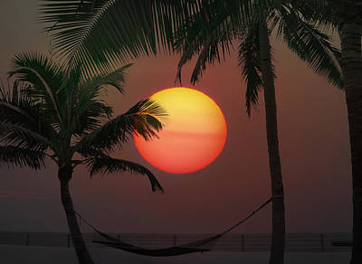 Sunset In The Keys Art Print by Bill Cannon