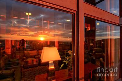 Photograph - Sunset In The Lobby by Adam Jewell