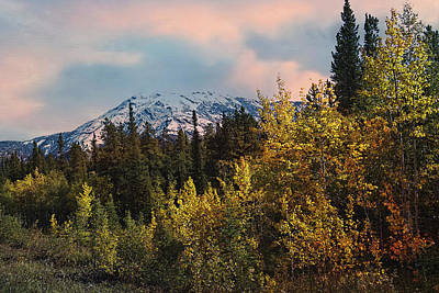 Woods Photograph - Sunset In The Mountains by Helen Roach
