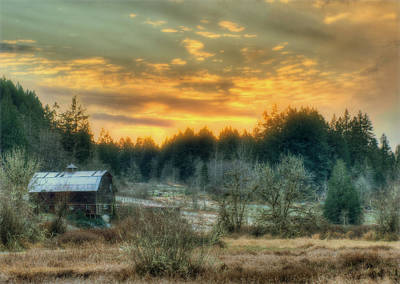 Photograph - Sunset In The Valley by Jeff Cook