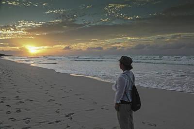 Sunset In Varadero Art Print
