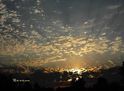 Photograph - Sunset In Washington by Sadie Reneau