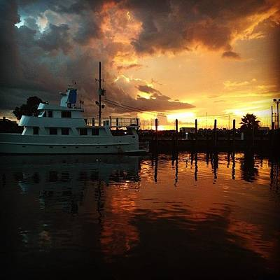 New Orleans Photograph - Sunset Is Beautiful #iphone5 by Scott Pellegrin