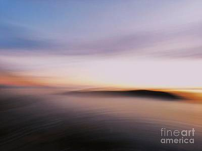 Sunset Island Dreaming Art Print by Andy Prendy
