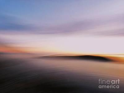 Sunset Island Dreaming Art Print