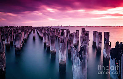 Photograph - Sunset  by Jan Wolf