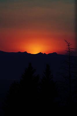 Sunset Art Print by Janie Johnson