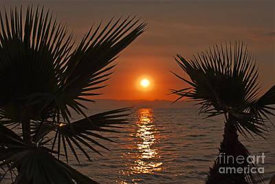 Sunset Art Print by Jelena Jovanovic