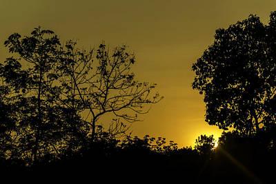 Western Art - Sunset by Jijo George
