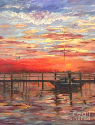Painting - Sunset by Joanne Killian