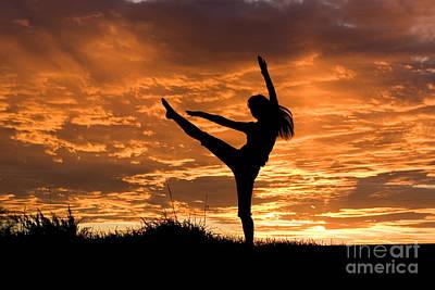 Daydreams Art Photograph - Sunset Jubilation by Cindy Singleton