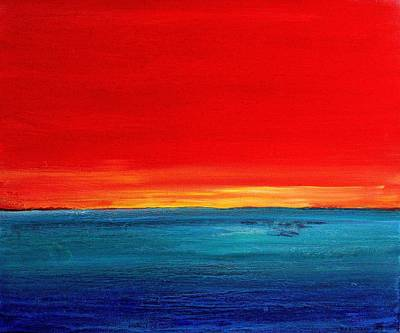 Painting - Sunset 2012 by Karl Leonhardtsberger