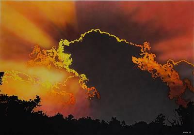 Sunset Art Print by Konstantinos-Pimba Botas