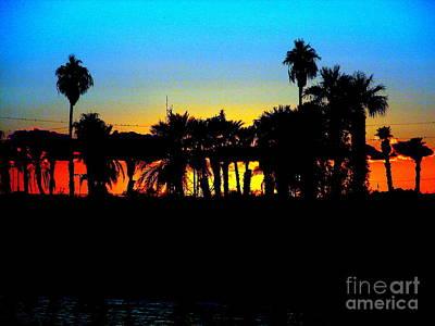 Sunset Lake Havasu Art Print by John Potts