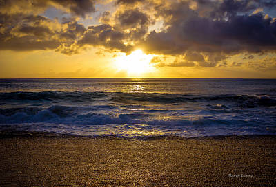 Beach Photograph - Sunset Life 001 by Rena  Lopez