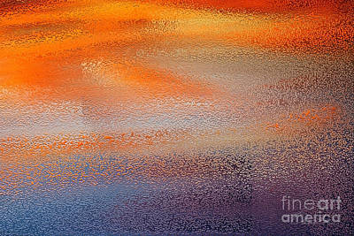 Digital Art - Sunset Lines by Danuta Bennett