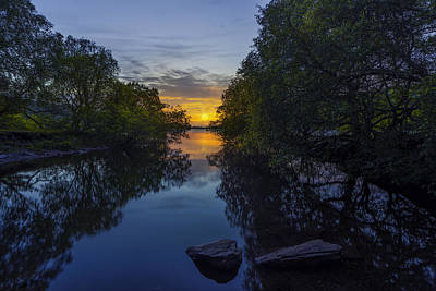 Photograph - Sunset Llanberis Lake by Ian Mitchell