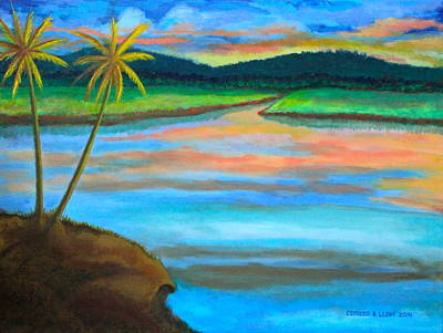 Painting - Sunset  by Lorna Maza