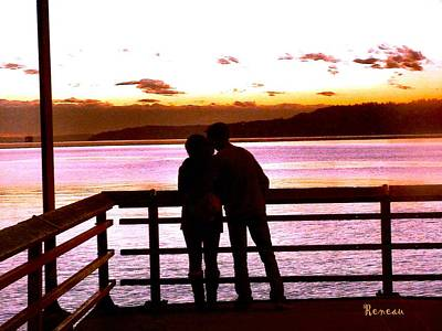Photograph - Sunset Lovers  by Sadie Reneau