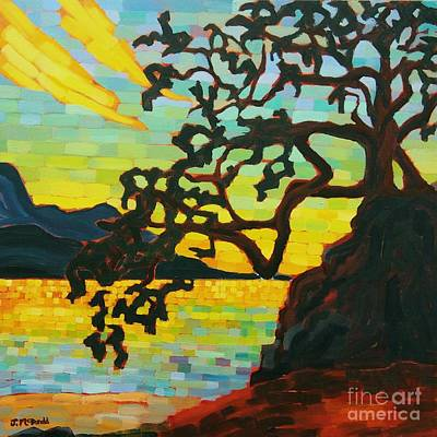 Painting - Sunset Mambo by Janet McDonald