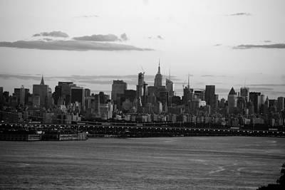Photograph - Sunset Manhattan by John Schneider