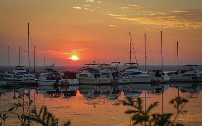 Photograph - Sunset Marina by Patti Deters