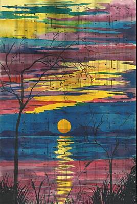 Painting - Sunset Melody by Beverly Marshall