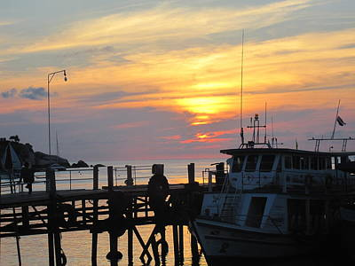 Michael Fitzpatrick Photograph - Sunset by Michael Fitzpatrick