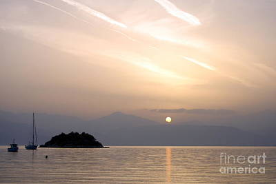 Photograph - Sunset Nafplio by A K Dayton