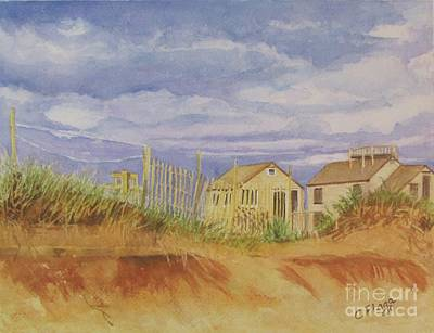 Sunset Nantucket Beach Art Print