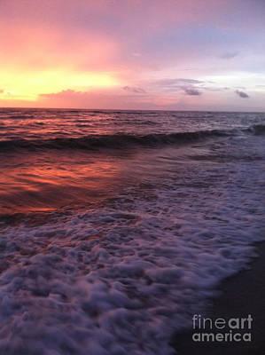 Photograph - Sunset. Naples.fl by Oksana Semenchenko