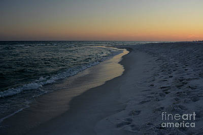 Sunset Navarre Beach Art Print