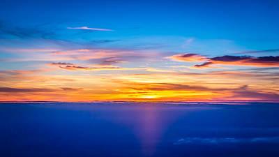 Sunset Art Print by Neah Falco