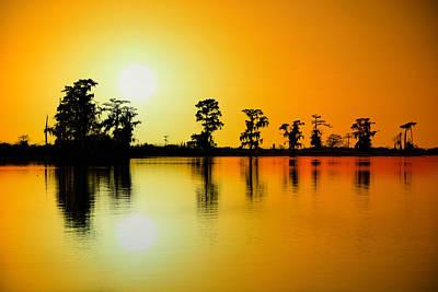 Sunset Nola Art Print by Mark Hazelton