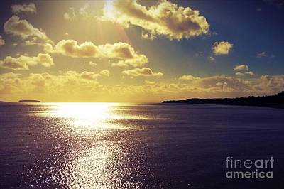 Maia Photograph - Sunset Number 1 by Maia Newley
