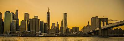 Photograph - Sunset Ny by Theodore Jones