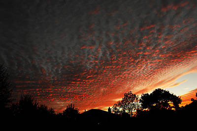 Photograph - Sunset October 17 by Kerry Beverly