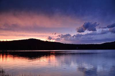 Photograph - Sunset Of Fire And Ice by Rich Rauenzahn