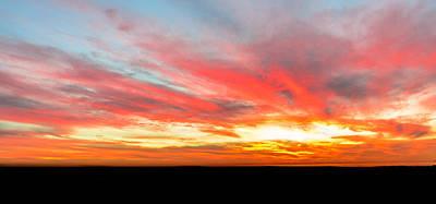 Photograph - Sunset Of Fire by Jason Chu