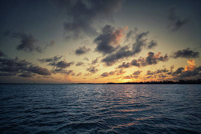 Photograph - Sunset Off The Coast Of Cat Island by Andy Mann