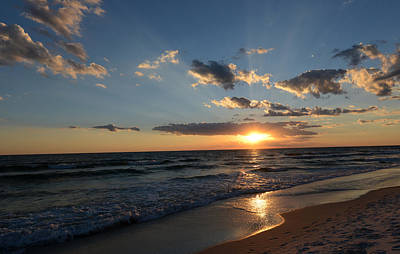 Photograph - Sunset On Alys Beach by Julia Wilcox