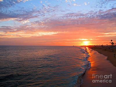 Sunset On Balboa Art Print